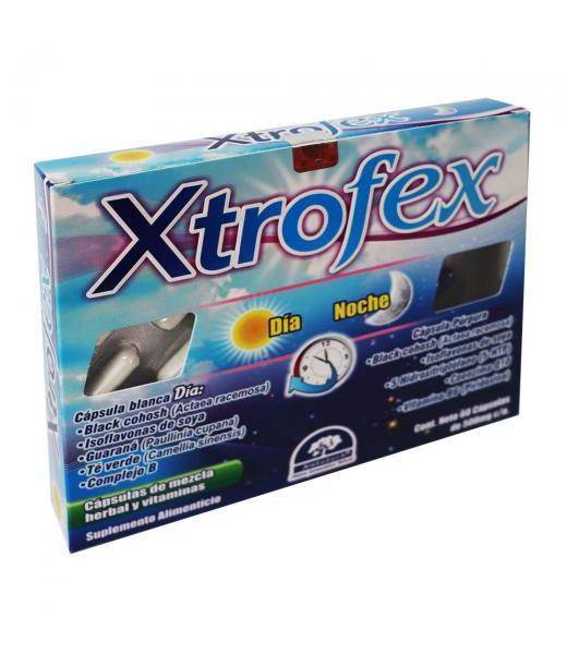 CAPS. XTROFEX C 60 MENOPAUSE DIA Y NOCHE LAB. NATUTECH