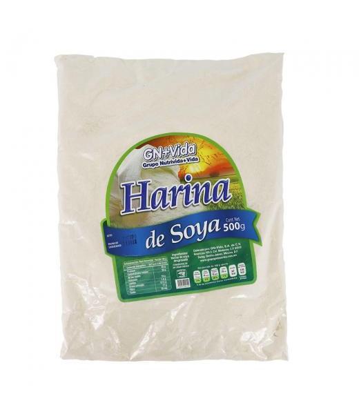 CEREAL HARINA DE SOYA 500GR. GN+VIDA