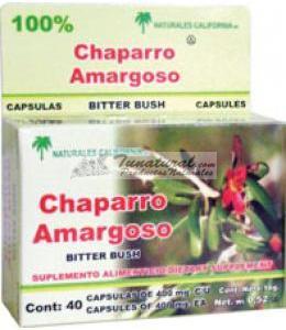 CHAPARRO AMARGO 40 CAPS.