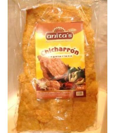 CHICHARRON VEGETARIANO 100 G ANITAS C 10