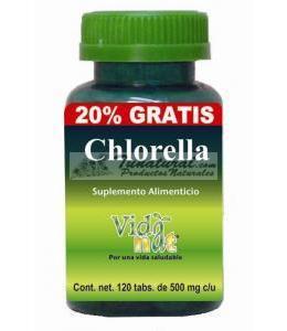 CHLORELLA 500 MG 100 TABS+20%