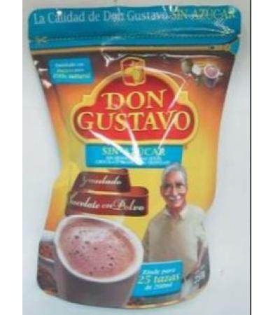 CHOCOLATE SIN AZUCAR 250 G DON GUSTAVO