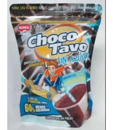 CHOCOLATE SIN AZUCAR 310 G CHOCO TAVO