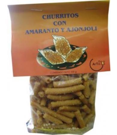 CHURRITOS AMARANTO NAT 100 G ARTE AMARANTO C 24