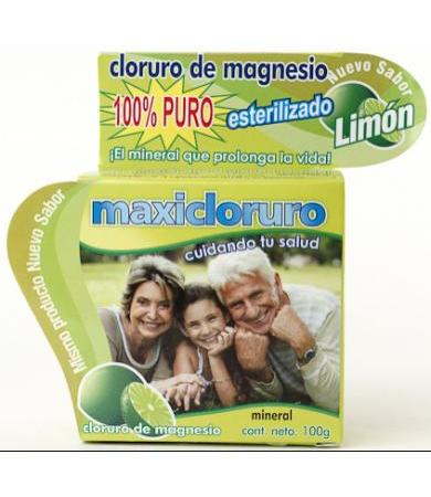 CLORURO DE MAGNESIO SAB.LIMON MAXICLORURO 100 G MAXICLORURO