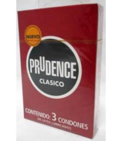 CONDONES PRUDENCE CLASICO 3 PZAS
