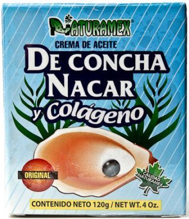 CREMA DE CONCHA NACAR 120 G NATURAMEX