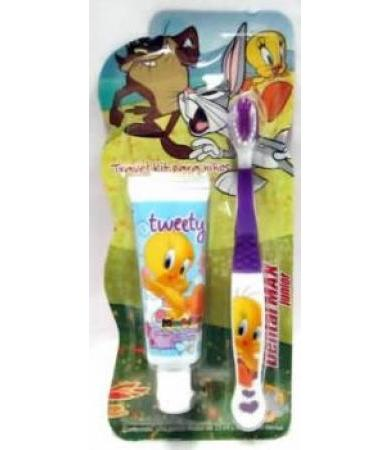 CREMA DENTAL 25 ML + 1 CEPILLO DENTAL NI�A LOONEY TUNES