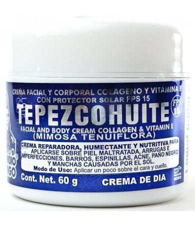 CREMA TEPEZCOHUITE BLANCA 60 G
