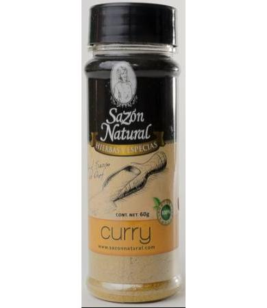 CURRY 60 G SAZON NATURAL