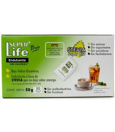 ENDULZANTE NATURAL SUPER LIFE BIO 50 SOB