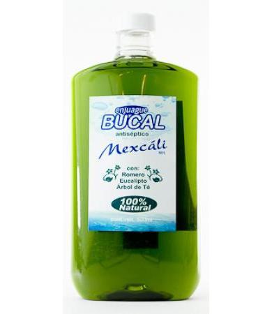 ENJUAGUE BUCAL ANTISEPTICO 500 ML MEXCALI