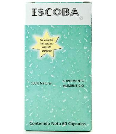 ESCOBA INTESTINAL 60 CAP