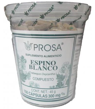 ESPINO BLANCO 150 CAP PROSA