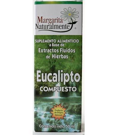 EUCALIPTO COMPUESTO EXTRACTO 50 ML MARGARITA NATURAL