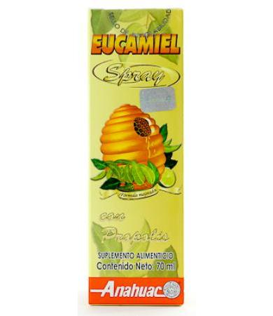 EUCAMIEL CON PROPOLIS SPRAY 70 ML ANAHUAC