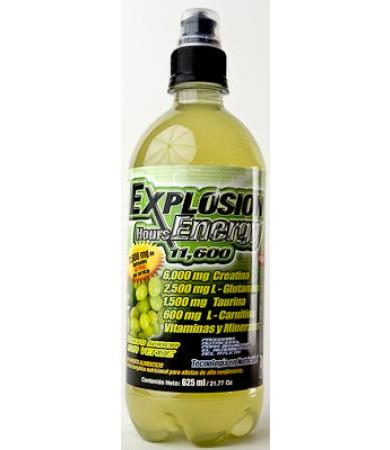 EXPLOSION HOURS ENERGY UVA VERDE 625 ML F&NT