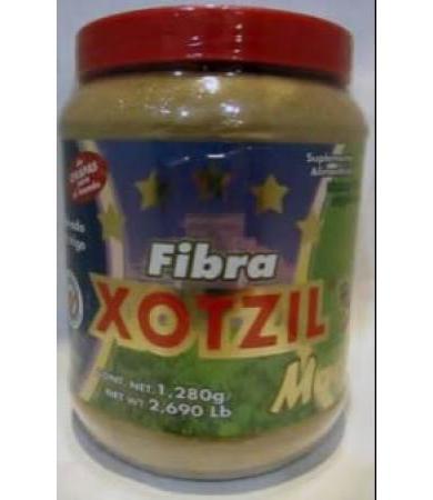 FIBRA NATURAL XOTZIL CHAROLA CON 6 1280 G