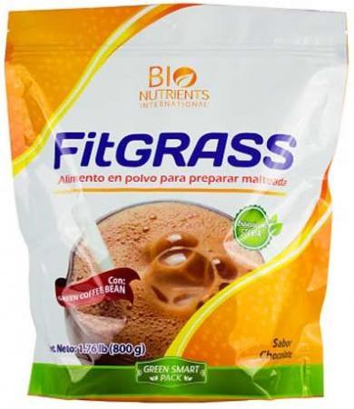 FITGRASS MALTEADA SAB CHOCOLATE 800 G BIO NUTRIENTS