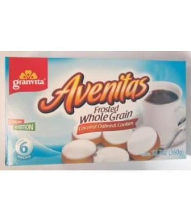 GALLETAS AVENITAS COCO BETUN 360 G GRANVITA P 6