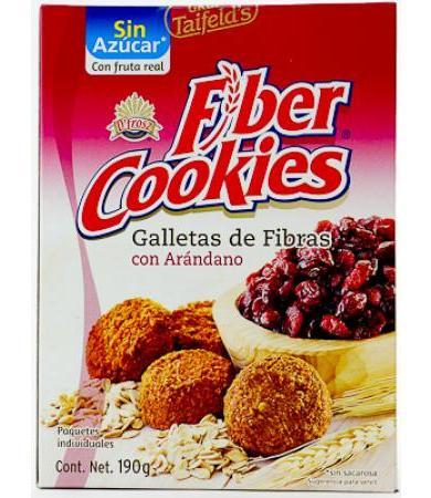 GALLETAS DE FIBRA CON ARANDANO 190 GTAIFELD S