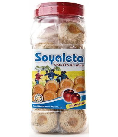 GALLETAS SOYALETA CHABACANO RAPIFRUIT P 30