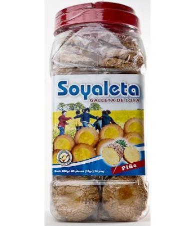 GALLETAS SOYALETA PI�A RAPIFRUIT P 30