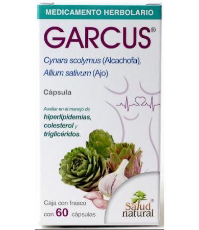 GARCUS 60 CAP SALUD NATURAL