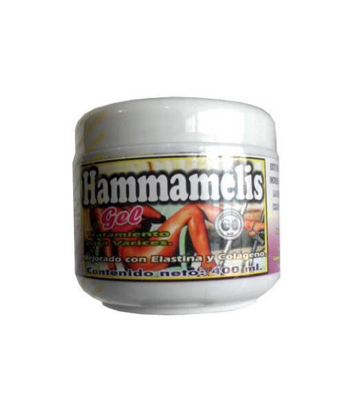 GEL HAMMAMELIS 400ML. CORPORAL RELAJANTE PARA PIERNAS NATURA-MUNDO BRAJIM
