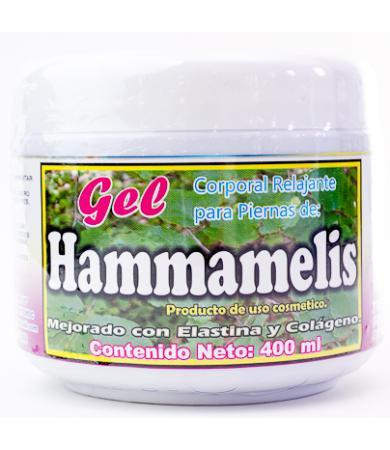 GEL HAMMAMELIS REFORZADO 400 ML NATURA MUNDO BRAJIM