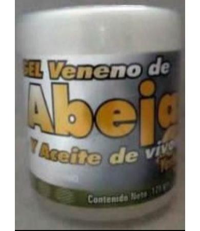 GEL VENENO DE ABEJA Y ACEITE DE VIBORA 125 G YERBO VITAL