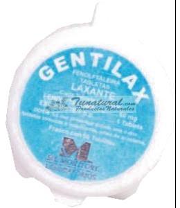 GENTILAX LAXANTE FENOLFTALEINA TABLETAS