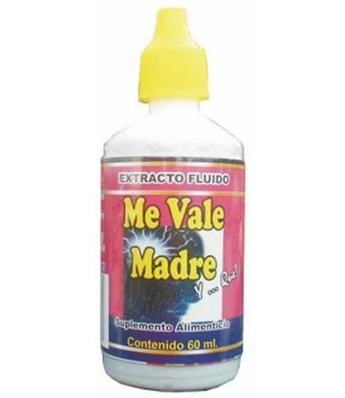 GOTAS ME VALE MADRE Y QUE 60ML NATURA MUNDO