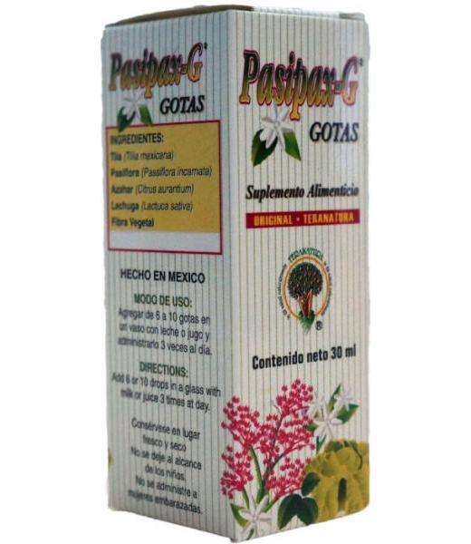 GOTAS PASIPAX-G 30ML. TERANATURA