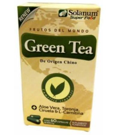 GREEN TEA DIET 60 CAPSULAS RENEW SOLANUM