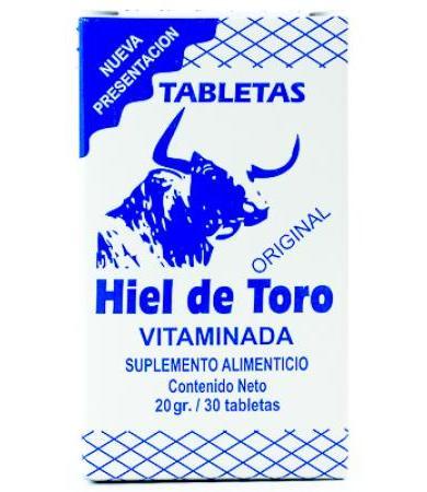 HIEL DE TORO VITAMINADA 30 TAB LABORATORIOS HIEL A