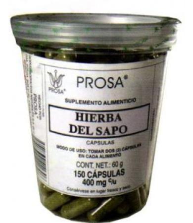 HIERBA DEL SAPO 150 CAP PROSA