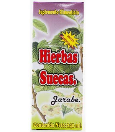 HIERBAS SUECAS JARABE 240 ML NATURA MUNDO