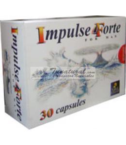 IMPULSE FORTE PARA HOMBRE 30  CAPSULAS
