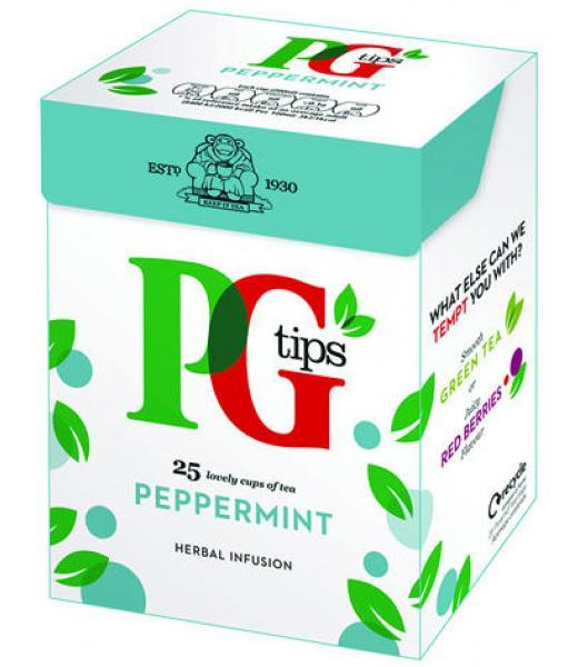 INFUSION MENTA SIN CAFEINA 27.5 G PG TIPS