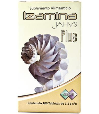IZAMINA PLUS 100 TAB NATURAL JAHVS