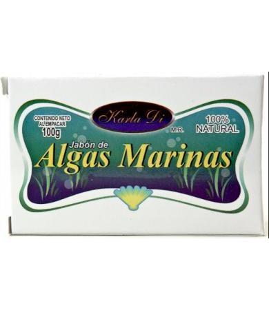 JABON DE ALGAS MARINAS 100 G KARLA DI