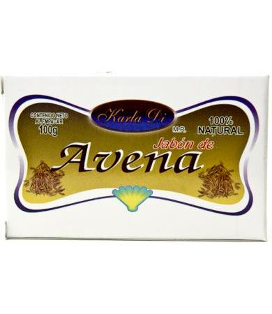 JABON DE AVENA 100 G KARLA DI