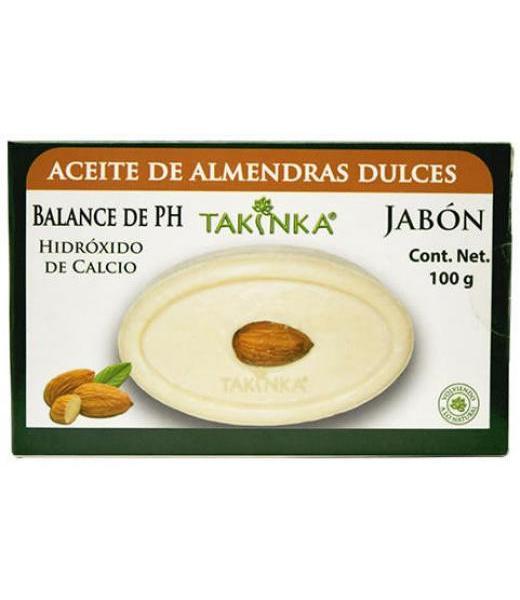 JABON DE ACEITE DE ALMENDRAS DULCES 150 G TAKINKA