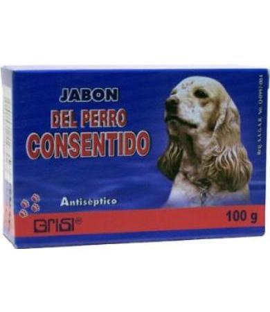 JABON DEL PERRO CONSENTIDO 100 G GRISI