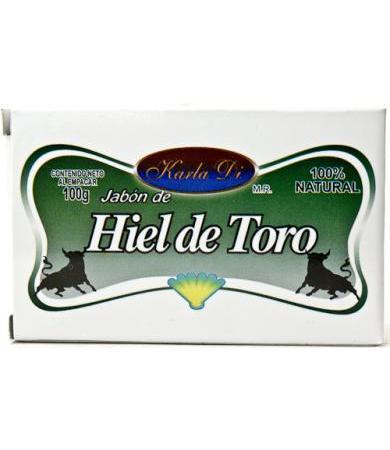 JABON HIEL DE TORO 100 G KARLA DI