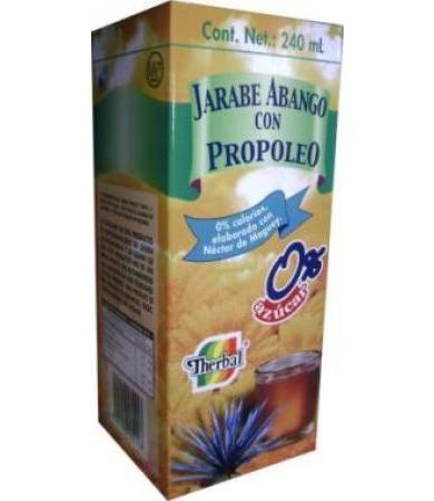 JARABE ABANGO CON PROPOLEO 0% AZUCAR