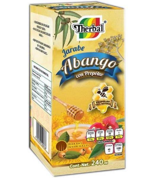 JARABE ABANGO CON PROPOLEO 240ML. THERBAL