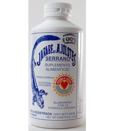 JARABE AJOLOTES SERRANO 240 ML