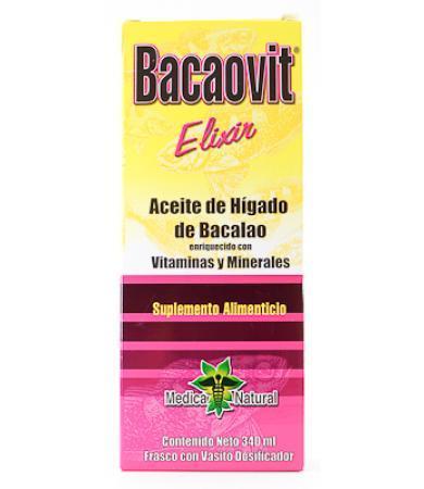 JARABE BACAOVIT HIG DE BACALAO 340 ML BQM